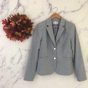 Calvin Klein Light Grey Blazer Jacket